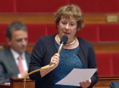 La députée Laurence Abeille attrape le bourdon !